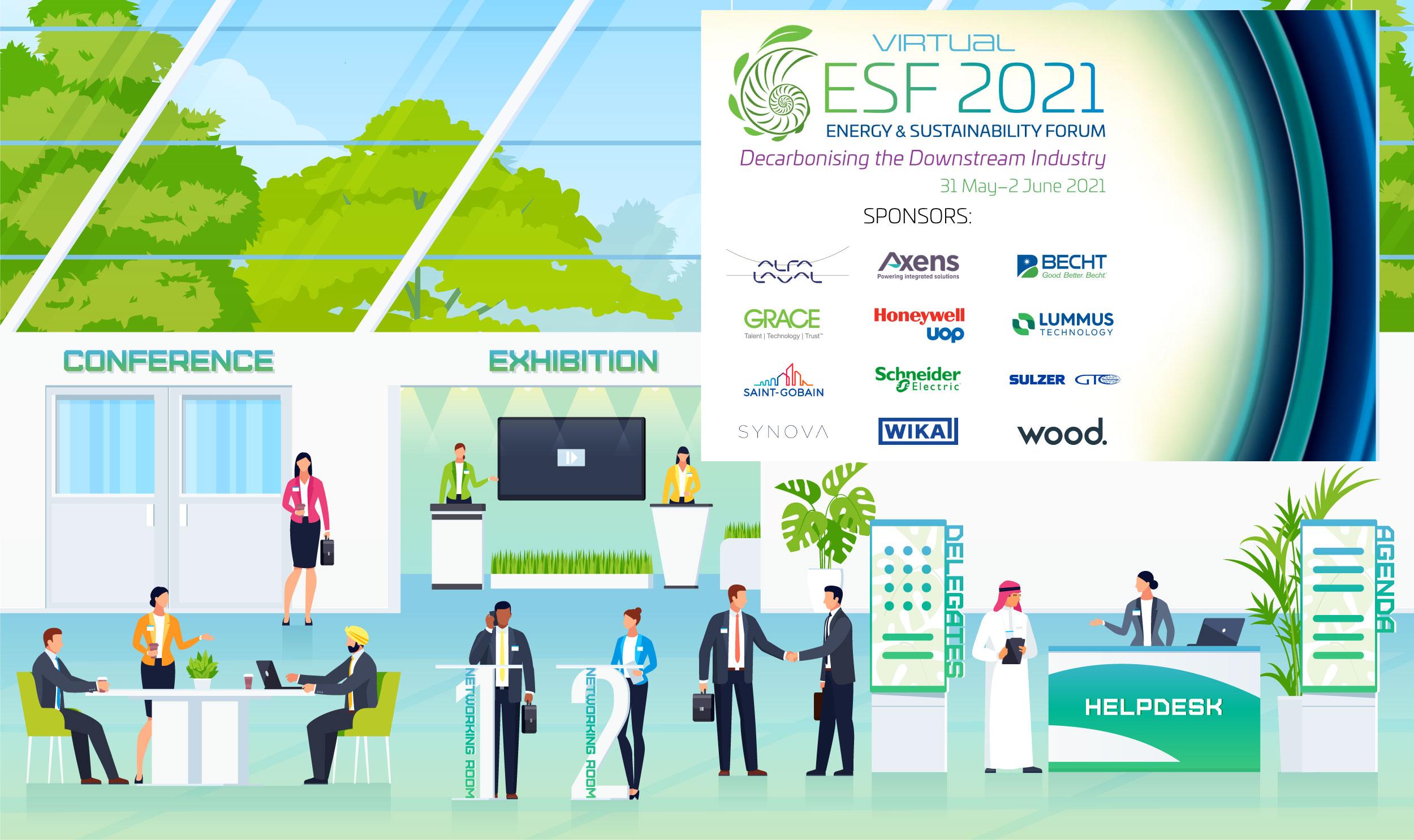 ESF Virtual 2021 Lobby