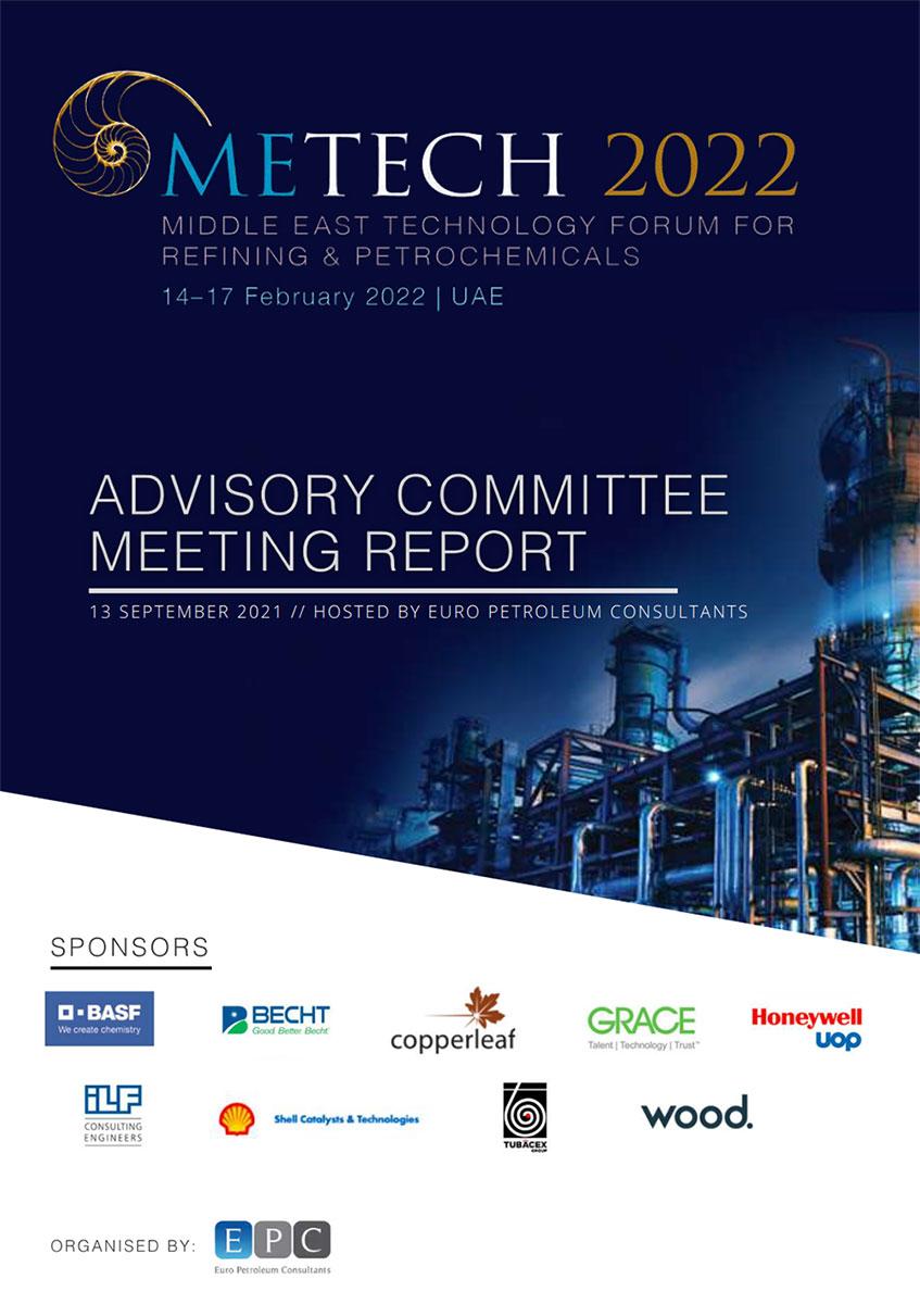 Advisory Meeting Report